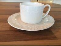 Laura Ashley cup & saucer set x4 pieces