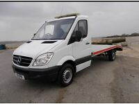 Vehicles bought for cash / recovery service