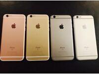 iPHONE 6S 64GB, UNLOCKED, SHOP RECEIPT & WARRANTY, ALL COLOURS
