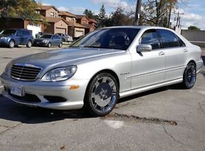 lady driven mint low km 2004 Mercedes s55 AMG V8 SUPERCHARGED