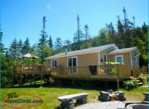 Cabin for Sale on Bonne Bay Pond