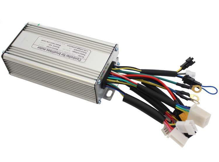 Hallomotor Ebike Controller 24V 36V 48V 200-350W 20A Regener