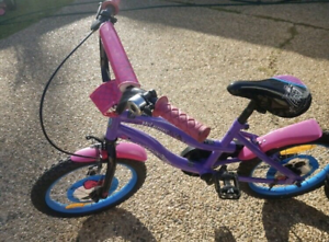 """16"""" monster high bike and scooter"""