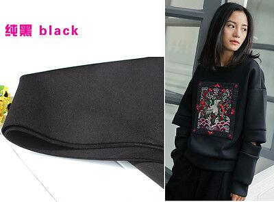 Ткань Black Spandex polyester Fabric knitted