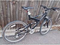 Raleigh Bandicoot 24 gears mountain bike