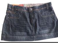 C new look house of denim skirt 14