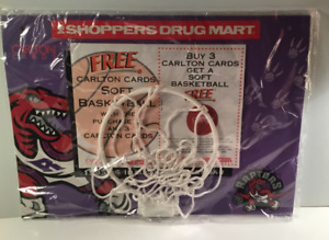 Mint Condition (New)- 1995 Toronto Raptors Basketball Net