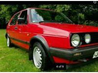 Classic car. VW Golf GTD MK2