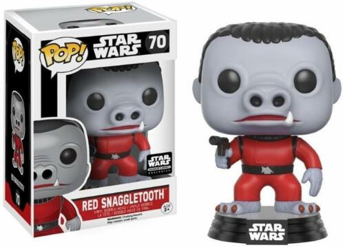 Star Wars Pop Vinyl: Red Snaggletooth Limited Edition (Me...