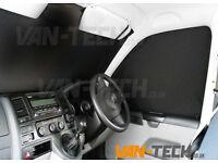VW T5 Van Transporter Interior Cab Curtain set
