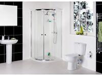 FORGE™ 900mm Quadrant Shower Enclosure Suite