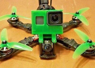 ALIEN Gopro Hero 5 / 6 / 7 mount session Fpv Drone Impulse Tpu Runcam Case 3D