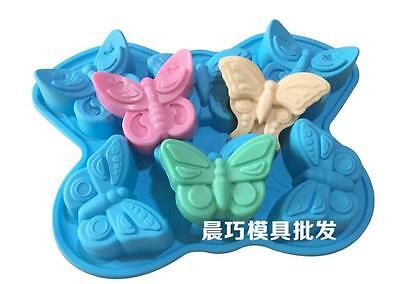 Butterfly Soap Mold Cake Mold Silicone Mould For Candy Chocolate