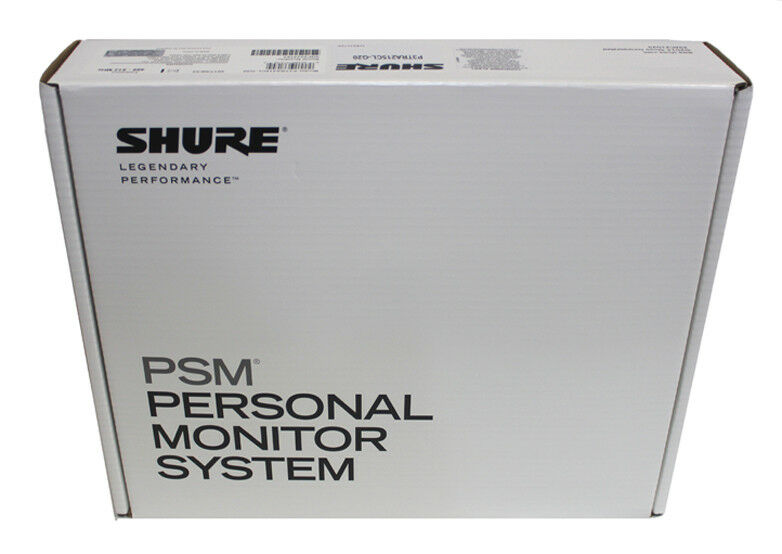 Shure P3TRA215CL PSM300 Wireless Stereo Personal Monitor Sys