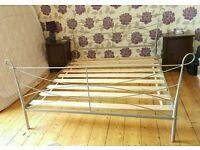 King size bed metal frame
