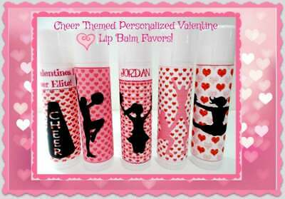 Gymnastic Party Favors (Valentines Gymnastics Themed Party Favors - Free Personalization- Set of)
