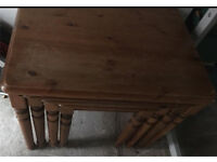 Best of 4 solid wood tables