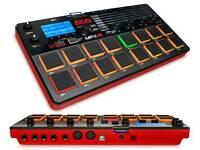 Akai mpx16 sampler wav player . loop midi system