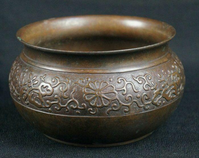 Koboshi bronze vase 1900