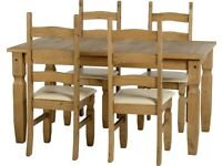Corona Dining Set with 4 Chairs purchased from Wayfair
