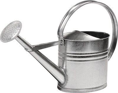 Gießkanne Zinkgießkanne 10L Metallgießkanne verzinkt Blechkanne