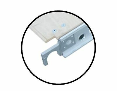 Werner 50-4 Replacement Aluminum Hook - Fits Werner Wood Scaffolding Plank