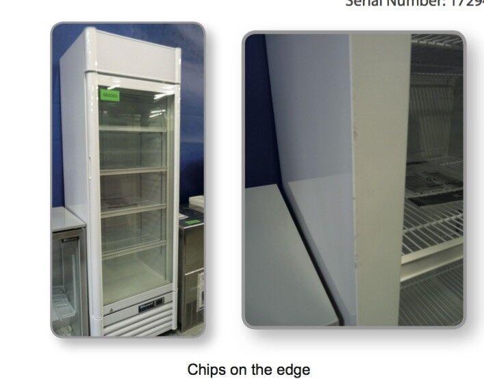 Blizzard Qr350 Glass Door Drinks Fridge Refrigerator Graded In