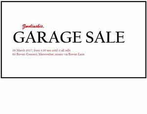 Garage Sale Merewether Newcastle Area Preview