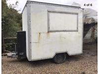 CATERING TRAILER - GAS & ELECTRIC
