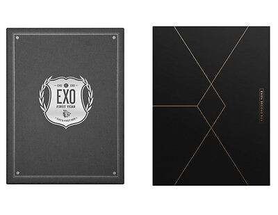 Exo   Exo S First Box 4Dvd    Second Box 4Dvd  Set Sealed K Pop