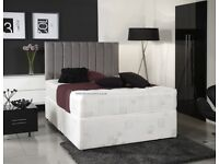 best selling brand- NEW Double Divan Base With 1000 Pocket Sprung Mattress !!Same Day DeliverY