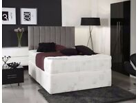 ❋❋ LONG LASTING BED & MATTRESS ❋❋ DOUBLE DIVAN BED BASE WITH DIFFERENT TYPES OF MATTRESSES