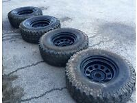 4x4 Tyres and Wheels off road