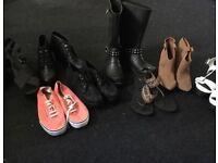 Ladies size 8 shoe bundle
