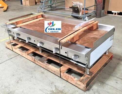 "New 72"" Ideal Commercial Griddle Model Idgr-72 Restaurant Cafe Usa Made Nsf"