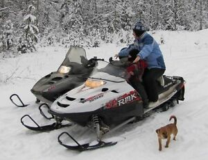 2007 Polaris 550 RMK Trail.