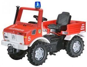Rolly Toys 036639 Mercedes Benz Unimog Feuerwehr