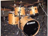 yamaha shell drum kit,/