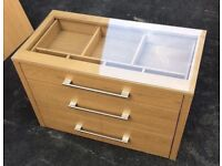 IKEA Komplement Interior Chest of Drawers for Pax Wardrobes Oak Effect