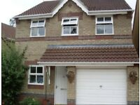 Detached 3 bed house with conservatory