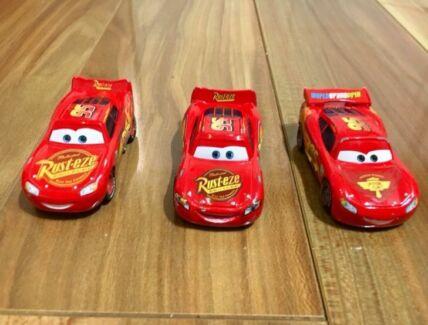 Disney Cars Toys Lightning McQueen 3 pack
