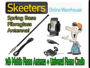 7db Mobile Phone Antenna and Phone Booster Cradle - iPhone Galaxy Android CAM705