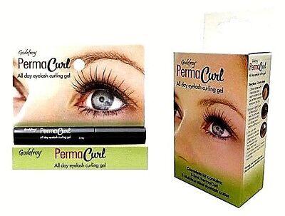 Eyelash Gel (Godefroy Perma Curl Kit  All day eyelash curling gel -  FREE)