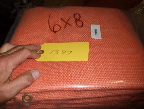 Heavy Duty Orange Welding Blanket 6