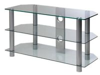 *BRAND NEW* TV Stand Clear Glass up to 42inch