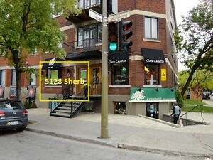 Busy corner - Wood floors - high ceilings - Great Boutique