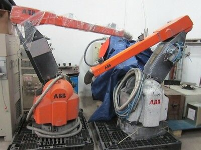 Abb Paint Robot Irb540 S4p Running Condition