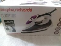 Morphy Richards Comfi Grip steam/spray/shot iron - new in box