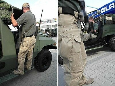 Mens Military Urban Tactical Combat Trousers Casual Cargo Pants Hiking Outdoor