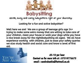 babysitters avalible